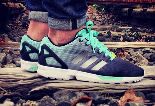 Adidas Zx Flux Mint Fade
