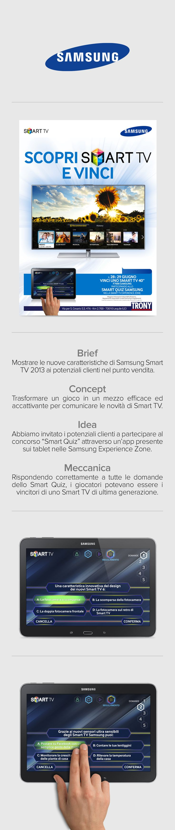 SAMSUNG Smart Quiz - A funny quiz to show people the new characteristis of Samsung Smart TV