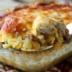 Potato+and+Chicken+Casserole+–+Картофельная+Запеканка+с+Курицей+По-Французски