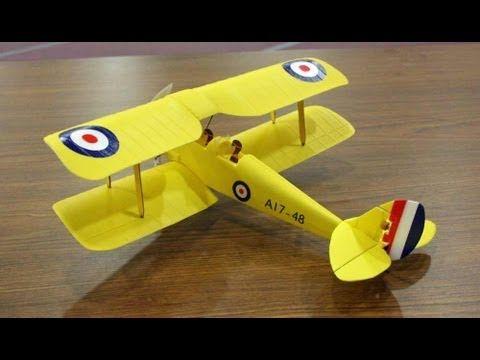 Ares Tiger Moth 75 Micro RC Airplane (crash at end!) - http://atosbiz.com/ares-tiger-moth-75-micro-rc-airplane-crash-at-end/