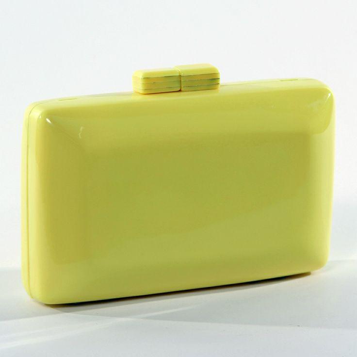 yellow neon clutch; neon perspex clutch; yellow bag; handbag; ac brazil; clutch amarela; clutch amarelo neon; shop online www.acbrazil.com