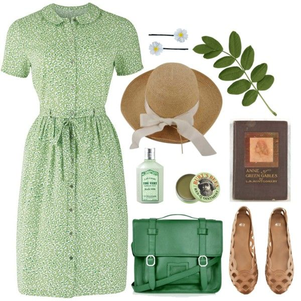 """Anne of Green Gables"" by lululation on Polyvore (What an adorable dress!)"