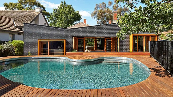 15 of the best backyard pools. Photography by Peter Bennetts.