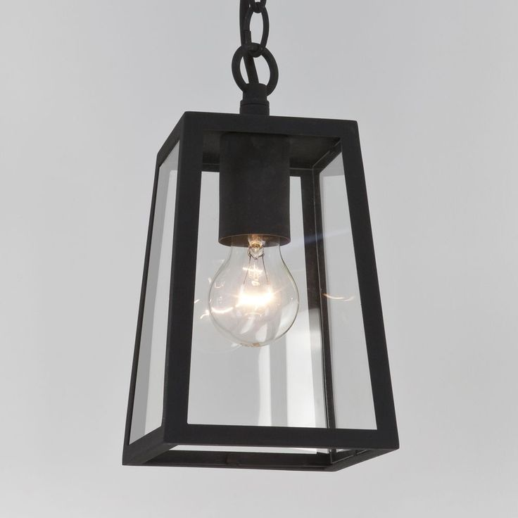Astro (7112) Calvi Outdoor Pendant Light Black