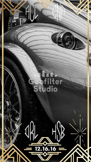 Here's a classy Geofilter design for a party! #snapchat #snapchatfilter #snapchatgeofilter #partyideas #partyplanner #party #geofilter #snapchatfilter