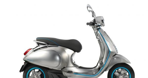 An All-Electric Vespa Is Set to Hit the Roads in 2018