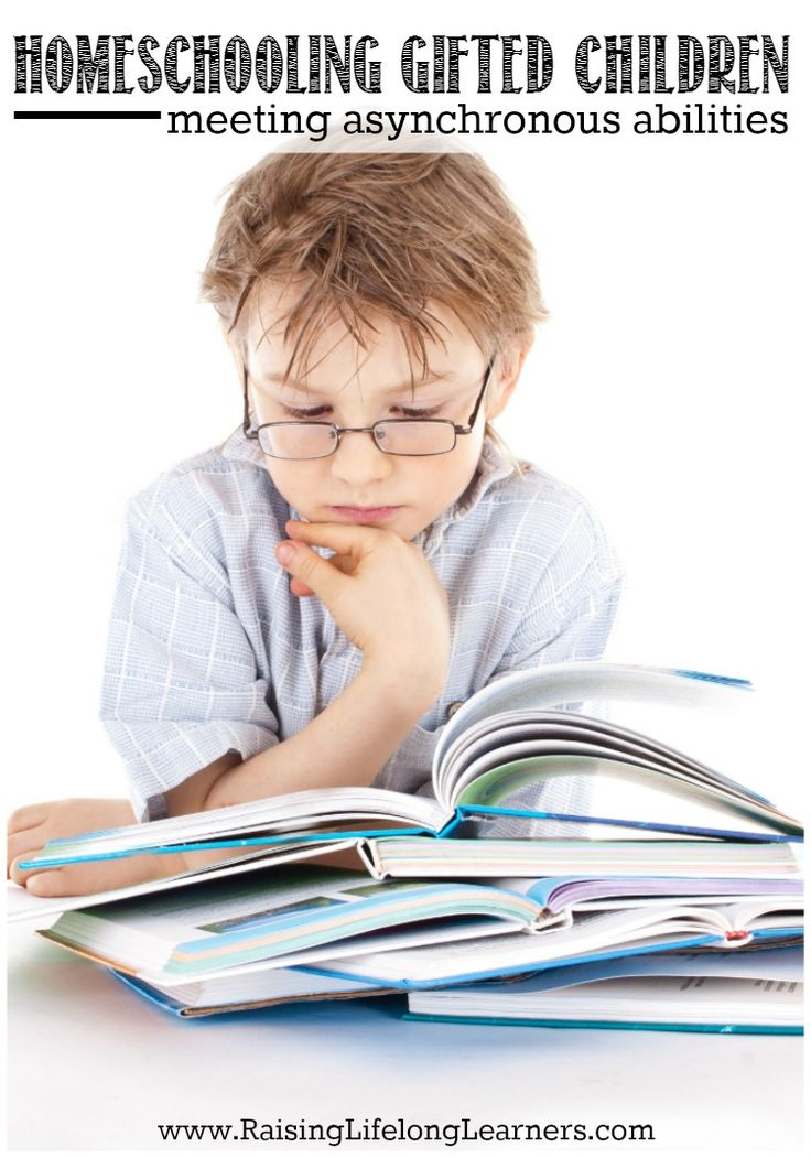 Homeschooling Gifted Children - Asynchronous Abilities ...