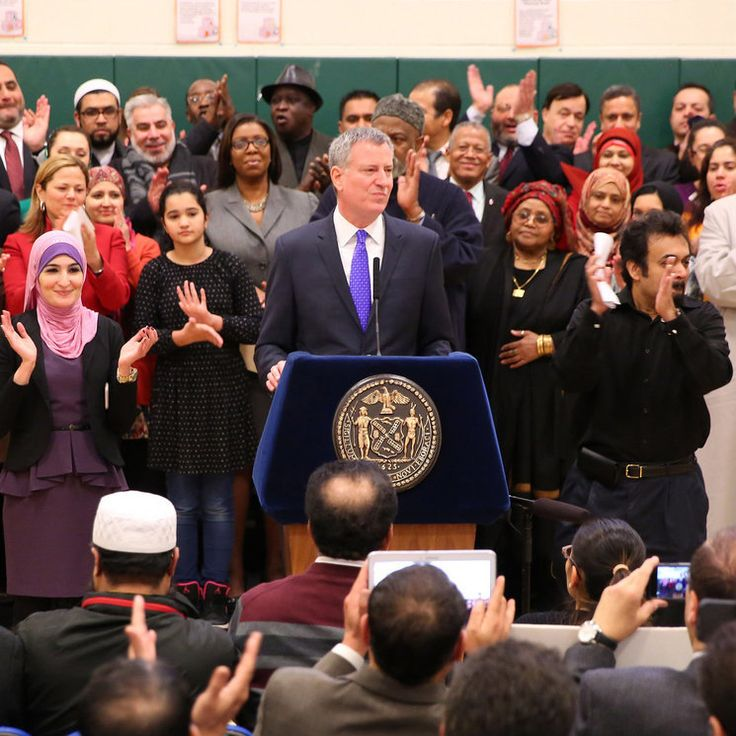 New York City took a leap forward in inclusivity and fairness this week when Mayor Bill de Blasio announced that the city's public schools will be observing two Muslim holy days, Eid al-Fitr and Eid al-Adha. Although a few other municipalities have...