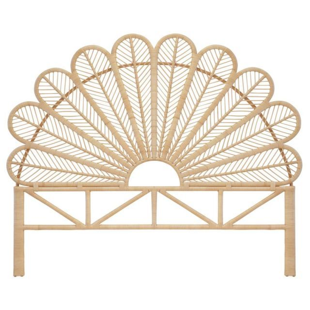 Petal Bed Head King Natural Petal Bed Heads Bed Heads Furniture The Family Love Tree Rattan Headboard Rattan Bed Headboards For Beds