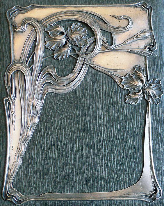 Russian art nouveaux | Art Nouveau Russian Silver Imperial Document Folio…