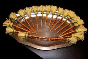 Coucou les filles !! Pour halloween nous avons fait un petit repas simple et rigolo entre filles, je vous laisse décourvir : APERO : Les saucisses terrifiantes : http://www.papillesetpupilles.fr/2011/10/recette-pour-halloween-saucisses-terrifiantes.html/...