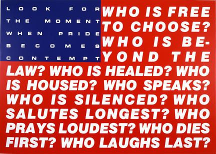 Barbara Kruger - Untitled Questions, 1991 [432x308]