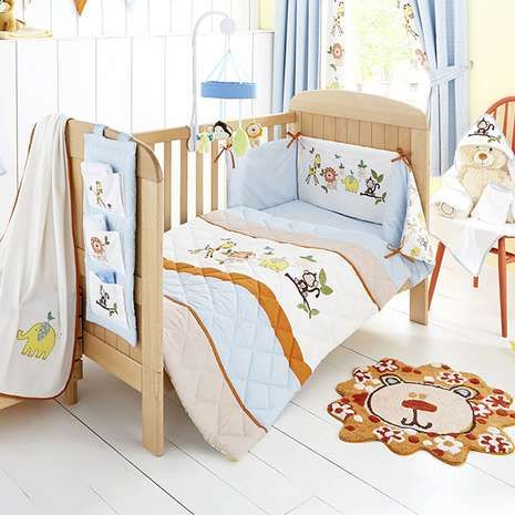 Sweet Safari Nursery Bed Linen Collection Bed Nursery