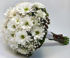 Ramo de novia de margaritas
