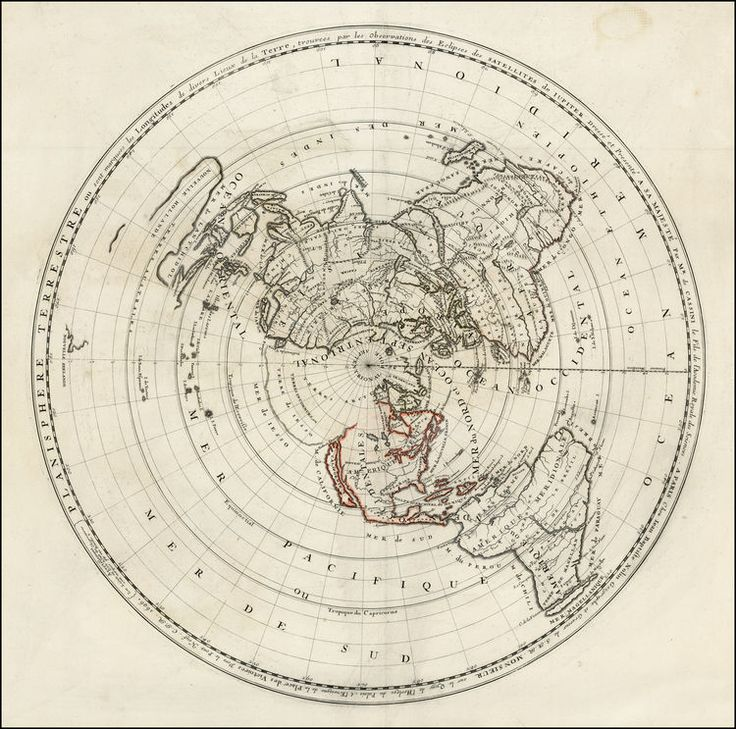 20 best Godu0027s Flat Earth images on Pinterest Flat earth, World - best of simple world map flat