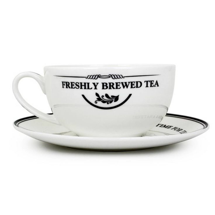 full of love personalised cup and saucer by pippins gift company   notonthehighstreet.com