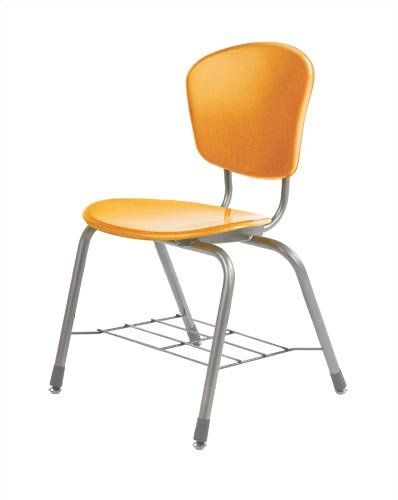 "Zuma 18.25"" Plastic Classroom Chair with Wire Bookrack Frame Finish: Silver Mist, Seat Color: Sandstone Virco http://www.amazon.com/dp/B003UL4WV4/ref=cm_sw_r_pi_dp_wS7Qub1XQ9FV4"