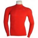 Camiseta Térmica Roja Manga Larga Lurbel. Consiguela aqui: http://www.deportesmena.com/camisetas-termicas#