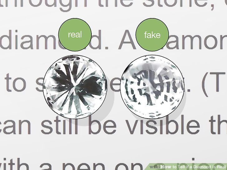 How To Tell If A Diamond Is Real Real To Tell Diamond
