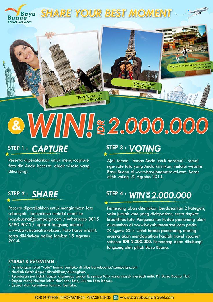 #TripictBayuBuana Photo Contest Lebaran 2014.