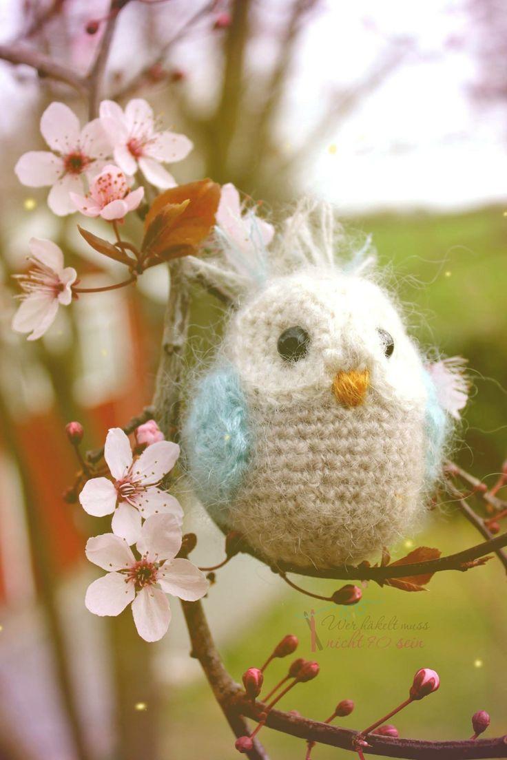 Gehäkelte Eule / Crochet Owls  Anleitung von Babsies Hook