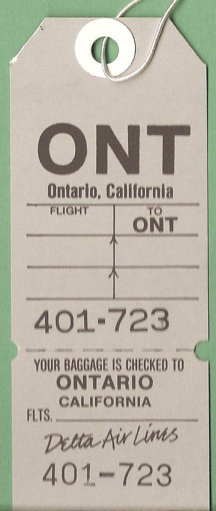 Delta Air Lines - ONT Ontario, California | Flickr - Photo Sharing!