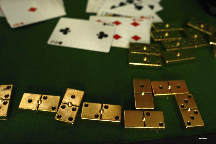 Fichas dominó. Juegos de mesa