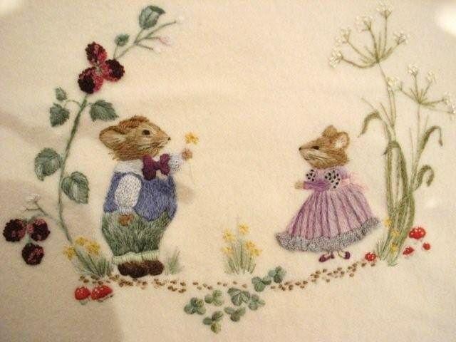 Bev Tully - Embroidery Designers - Gumnut Yarns