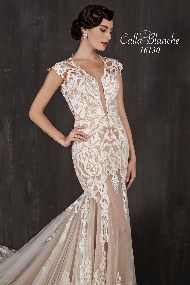Lace wedding dress open back say yes dress   best Boho Bride images on Pinterest  Marriage Bohemian weddings