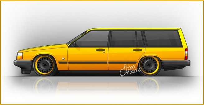 Nicely rendered 745 by Aboo Creations. | Virtual Volvos ...