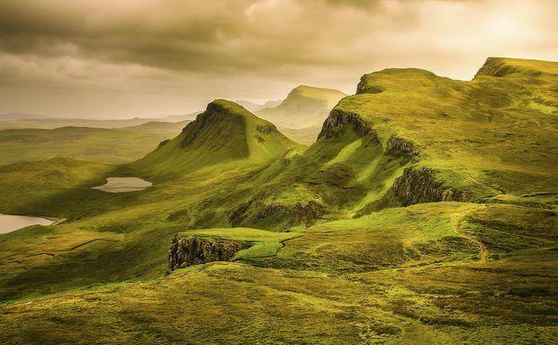 Terras Altas, na Escócia