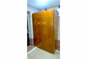 Act fast, this won't be on for long! 1930s art deco gentlemen's wardrobe - large