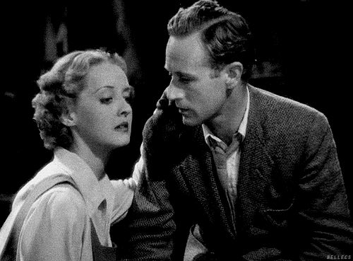 Bette Davis and Leslie Howard in the 'Petrified Forest' 1936...........Tumblr