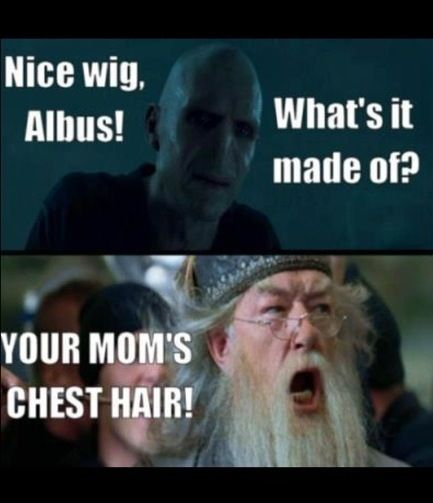 Some Harry Potter humor. hahahaha ive never watched Harry Potter but thats funny