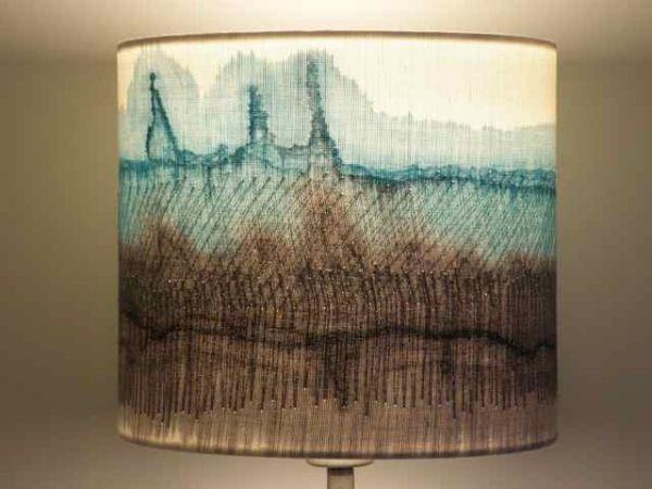 Handmade Lampshades – Duck Egg | Dionne Swift