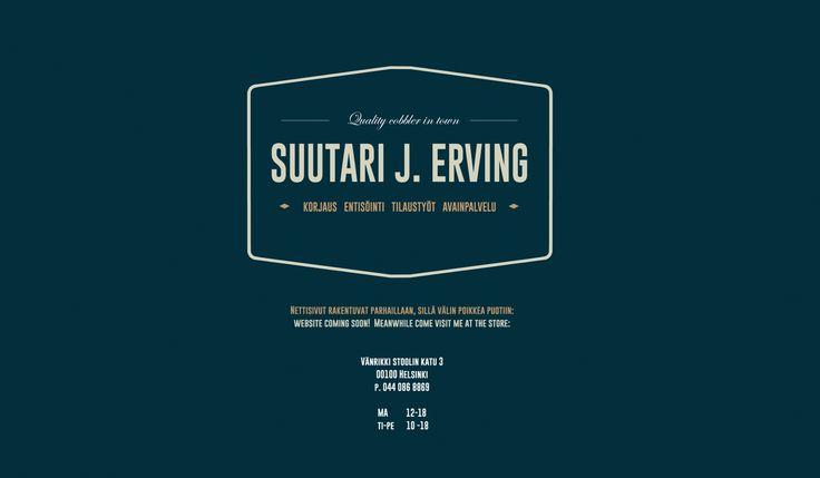 Suutari J. Erving, Helsinki
