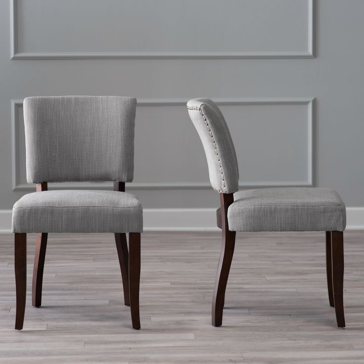 belham living paige open back dining chair brown herringbone set of 2 take - Dining Chairs In Living Room