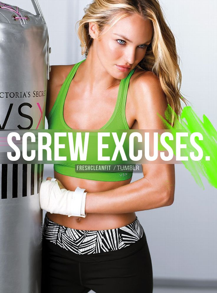 Candice is the best motivation.