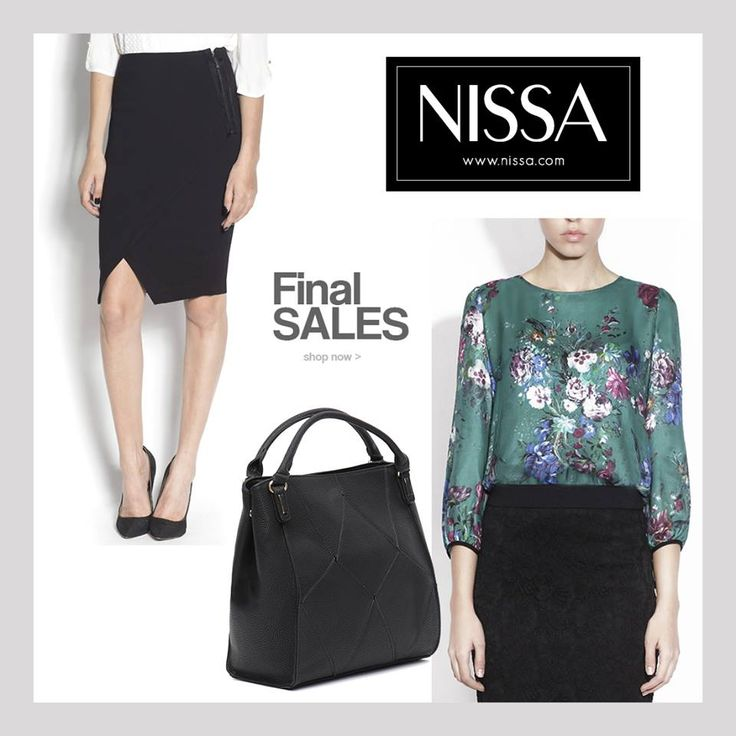 www.nissa.com #nissa #outfit #sales #final #shop #silk #bag #skirt #top #print #floral #fashion #fashionista #chic #look #style #stylish #promotion #offer