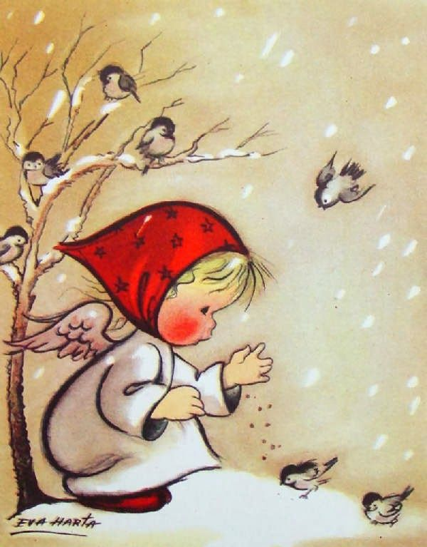 ❤️️️️Little Angels ~ Artist Eva Harta
