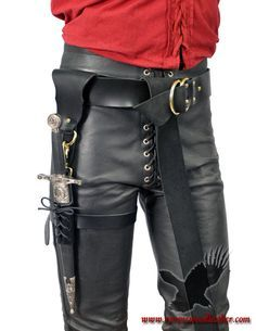 Dagger leg sheath. Could it be substituted with her wand? The dagger would be a really cool detail on the side without her side fabric.
