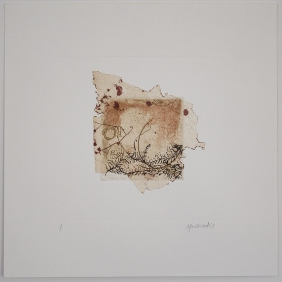 Etching with Chine Colle and Drypoint