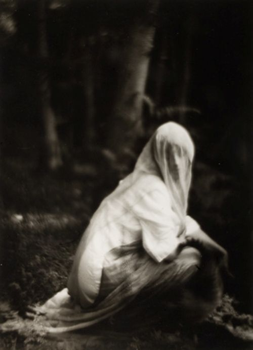 Imogen Cunningham - Veiled Woman, 1910-19121910/1975 / The Unseen Eye: Photographs from the Unconscious (Aperture, 2011) by W.M. Hunt *