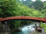 The Shinkyo Bridge, Nikko, Japan, gateway to shrines and temples