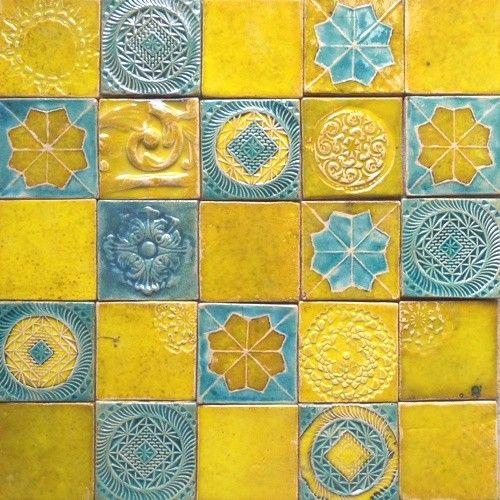 Znalezione obrazy dla zapytania kafle ceramiczne ręcznie robione