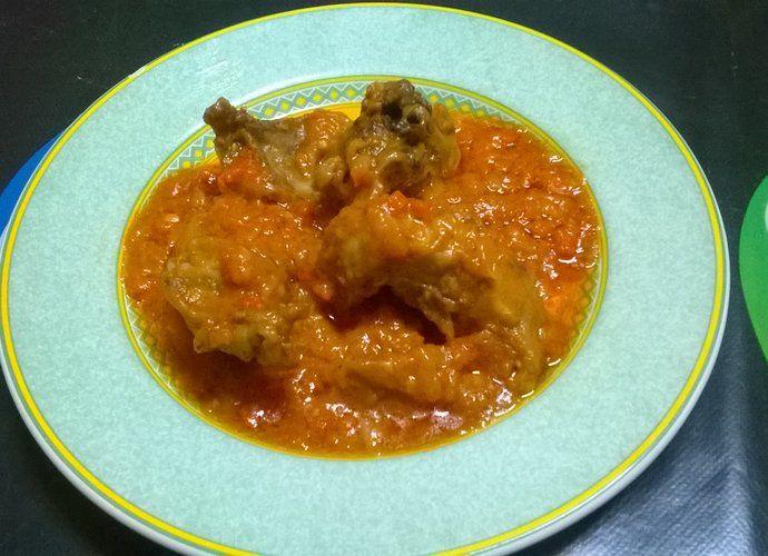 Conejo en tomate para #Mycook http://www.mycook.es/cocina/receta/conejo-en-tomate