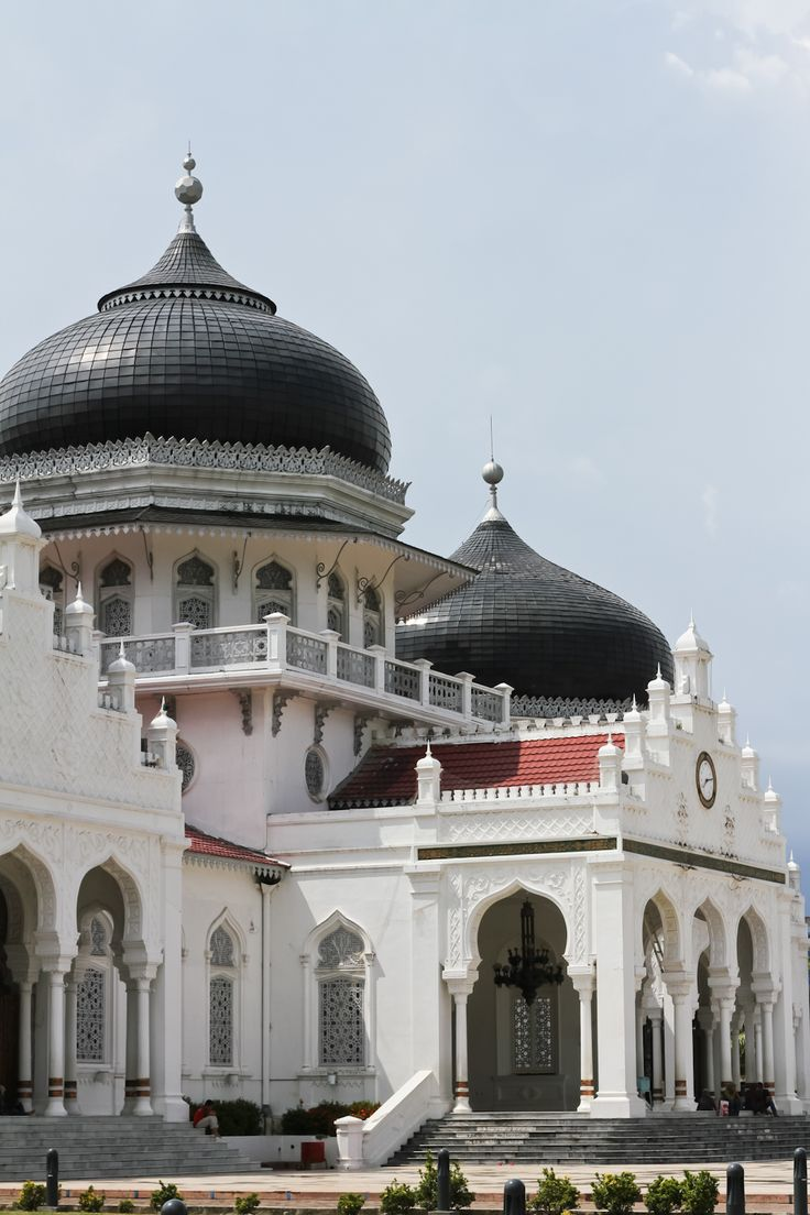 Baiturrahman Grand Mosque, Aceh. #indonesia