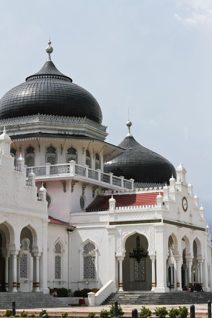 Baiturrahman Grand Mosque, Aceh. #indonesia