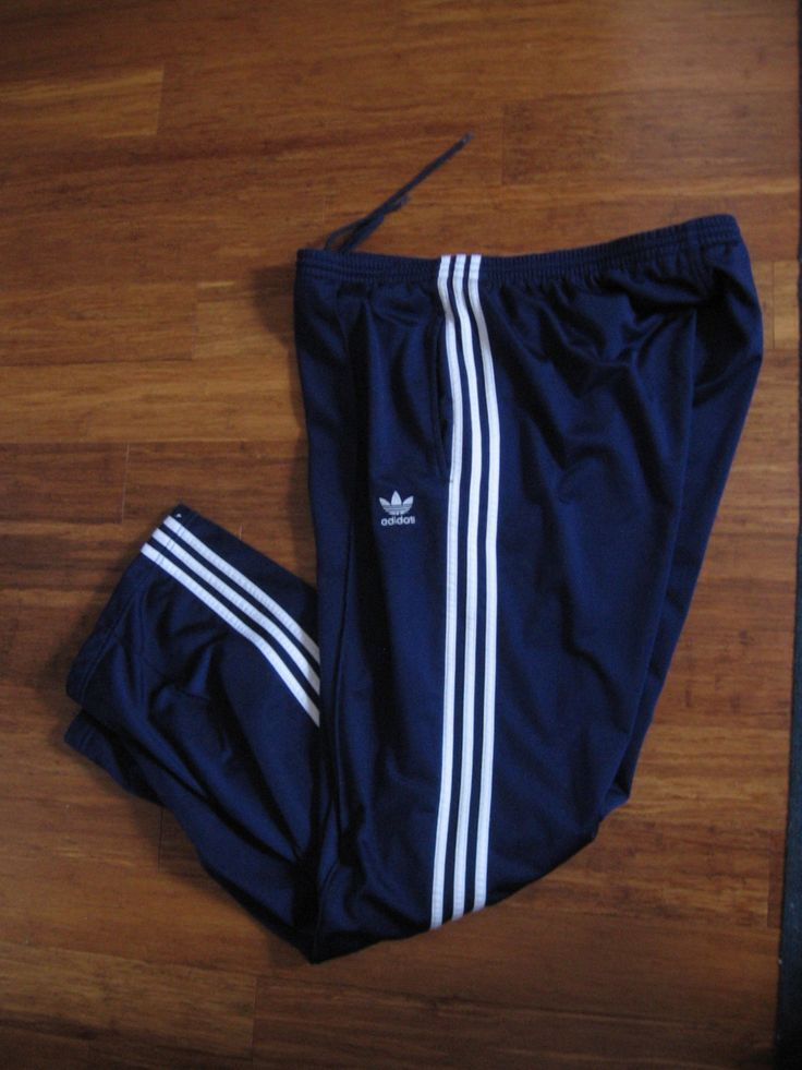 Vintage 90's, Adidas 90s Pants, Navy Blue Sweatpants, Adidas Tracksuit Bottoms, Adidas Retro Warm Up Pants, Pinstripes 90s, Size 2XL, by RockvilleCraft on Etsy
