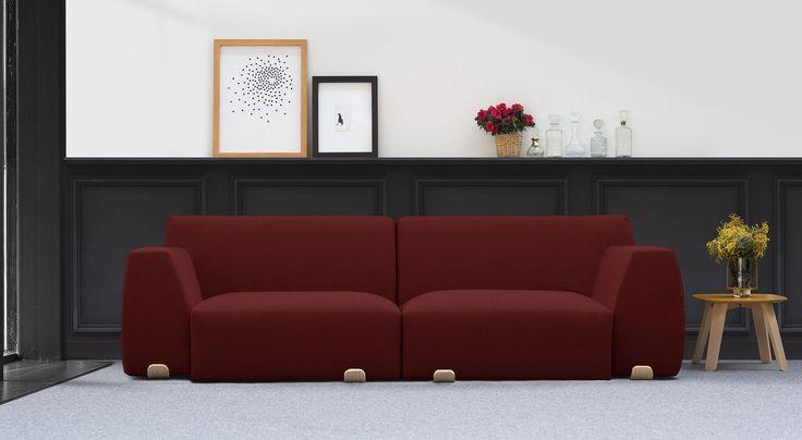 17 melhores ideias sobre sof s modulares no pinterest for Desarrollar una gran sala de estar